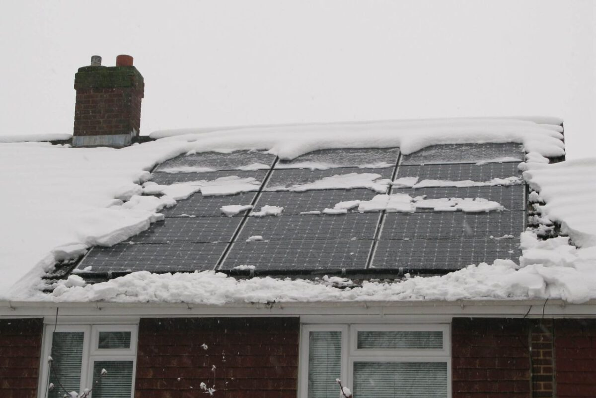 Is Your Solar Panel Safe Under Extreme Weather Conditions? –Solar Racking